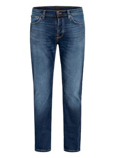 Nudie Jeans, Dark Wash Jeans, Slim Fit, Indigo, Fitness, Pants, Products, Fashion, Cotton