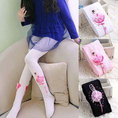 Cute Baby Kids Dance Girls Warm Tights Cotton Long Pants Hosiery Pantyhose Kids Girl Winter Stockings Baby Collant 21