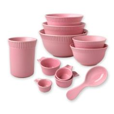 Pink Ceramic Kitchen Prep Kit. From now on, I want to use only pink things in my kitchen.