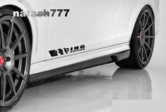 RACING EDITION Decal sticker emblem Sport Car BLACK Pair (Fits: Mercedes Benz #natash777