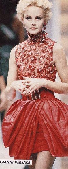 Gianni Versace | Pret a Porter Spring/Summer 1988 Milan | by barbiescanner