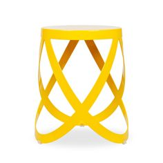 Cappellini Yellow Low Ribbon Stool, $399, from ABC Carpet & Home.