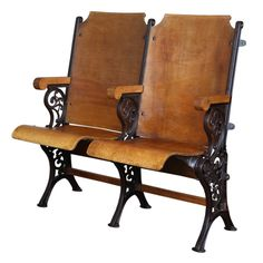 Original, Vintage Industrial, American Made, Theater Seats