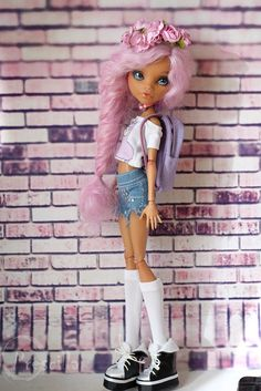 Monster high doll OOAK Howleen wolf