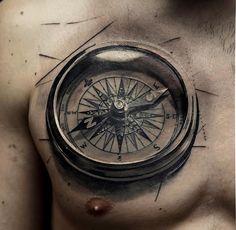 Dans 15 jours @kostyakoveza sera à @mubodyarts. #mubodyarts #compasstattoo #dijon #igersdijon #chesttattoo #compass #clockwork #realism #blackngreytattoo #realismtattoo #mustardcity #dijontattoo #tatouagedijon #modifiedunicorns