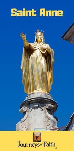Saint Anne the Grandmother of Jesus Catholic Saints, Roman Catholic, Saint Anne, Lives Of The Saints, John The Baptist, Before Us, Jesus Loves, Our Lady, Pilgrim