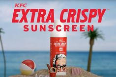 This is the world we live in: KFC debuts sunscreen smelling like fried chicken