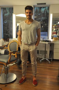mariano di vaio - red loafers