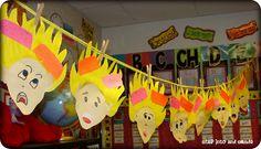 Step into 2nd Grade with Mrs. Lemons: Robert Munsch Fun! ~~ Activities to go with Robert Munsch stories.
