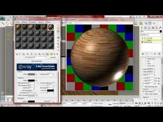 ▶ texturing in 3ds max part 01 parquet - YouTube
