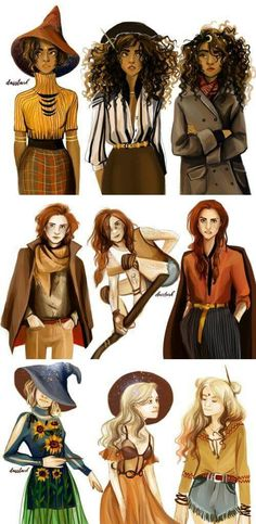 Hermione, Ginny and Luna Harry Potter