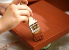 1000 id es sur peindre des meubles en bois sur pinterest - Teindre un meuble en bois ...