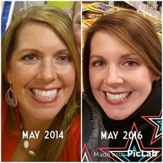 """From a fellow R+F consultant, Shauna -   """"I know you'll see I'm fattier and sassier now, but put that aside. Look at my skin! This is the same time of year in both pictures!! My son (12 yr old) said you've got lots of spots on your face and big wrinkles on your head in this one (left pic). If a 12yr old can see the difference, I know you can you can too.""""  Message me for details!"""