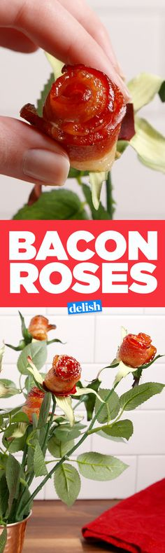 Forget Flowers! Bacon Roses Are The REAL Way To Show You Care