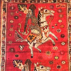 Is it hunting season?! King Bahram Gur was the 14th Sassanian King of Persia.  If you like to see this beautiful Antique rug come to: Dear Decor 1419 Burlingame Avenue Burlingame CA 94010 (650) 375-1413 www.findrugs.us  #deardecor #burlingame #antique #burlingameavenue #furniture  #downtownburlingame #tapestry #bahramgur #rugrestoration #arearugs #persianrug #sassanian #bayareashopping #furnituredesign #accessories #cityofburlingame #traditionalrug  #downtownsanmateo #persianrug…