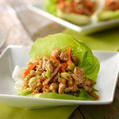 Turkey Lettuce Snack Wraps | @Jennie-O Recipes.