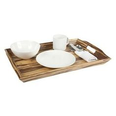 This adorable tray is perfect for any party host since it will coordinate with any decor. It's beautiful AND sustainable. Available at Khols