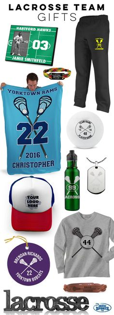 Celebrate the end of a great lacrosse season with some of our best end-of-season gifts for your team! We know you'll find something the whole team will love!
