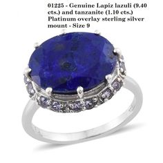 https://www.hazrati.com/genuine-lapiz-lazuli-and-tanzanite-ring-size-9.html #simply wonderful