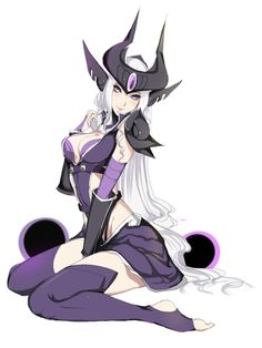 LEAGUE OF LEGENDS. Syndra.