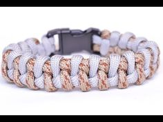 "Make the ""Intertwinded Boa"" Paracord Survival Bracelet - BoredParacord - YouTube"