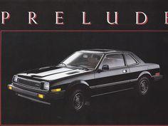 Honda Prelude Mk1 Canada Brochure 1979