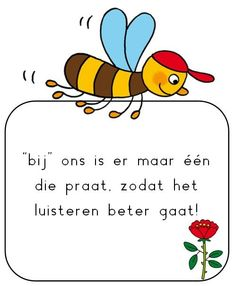 regels zoem de bij Educational Leadership, Educational Technology, Learning Quotes, Education Quotes, Pre School, Back To School, High School Counseling, Mobile Learning, Primary Education