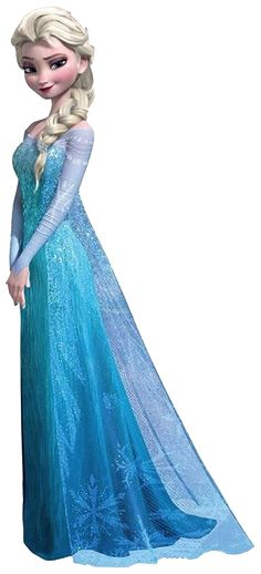 Frozen: Elsa Clip Art.