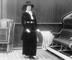 La mode à bord du Titanic  Lady Duff Gordon, une passagère de première classe à bord du Titanic.