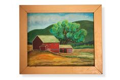 """Why: Imagine seeing a painting of your very own barn up for bid. This kind of discovery is unlikely to happen more than once, but it happened to me and it is what I love about the hunt—you never know!""""  Where: A Copake, New York, auction 20 years ago   - CountryLiving.com"""