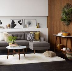 5 Couch Styles for Your Living Room from Boho to Industrial. -  Source: http://www.westelm.com