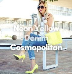 #Yellow #Denim #Cosmopolitan Register and upload your #ThreeWordWardrobe to stand a chance to win Spree shopping vouchers worth R 5 000. T&C apply. l skip.co.za