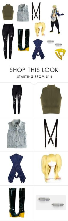 """Sting Eucliffe Fairy Tail"" by opaldusk ❤ liked on Polyvore featuring WearAll, J.Crew, River Island, Giorgio Armani, Coshome, Maria Black and Cheap Monday"