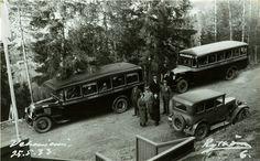 Toukokuu 1933 linja-automatkailijoita