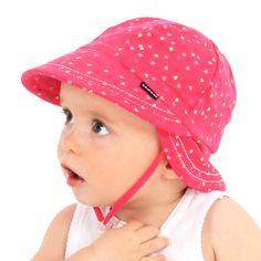 Bedhead Hats - Hearts Legionnaire Kids Sun hats that kids love to wear. Sunsmart protection