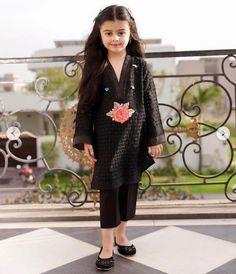 Homemade Grout Cleaner, Kurta Designs, Dress Designs, Kids Kurta, Scarf Jewelry, Designer Dresses, Children Dress, Dresses With Sleeves, Long Sleeve