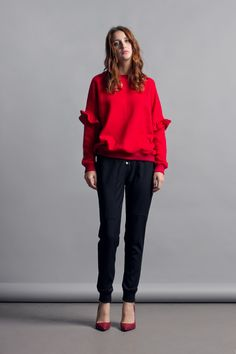 Cocoon fall/winter 2016/17 / Chili collection / Sweatshirt with frills