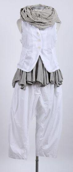 nelly johansson - Weste ALIZA white - Sommer 2015 - stilecht - mode für frauen mit format...