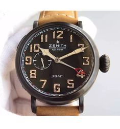 Zenith Pilot Type 20 GMT 1903 Brown Dial