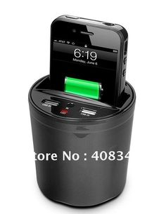 NEW!Wireless Car Charger Charger For iPhone+The 3rd Generation Wireless Charger+USB Charging For HTC/Samsung/Nokia etc(China (Mainland))