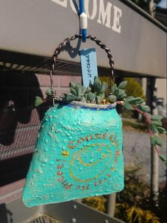 Free To Do List, Cactus, Tin Can Crafts, Tins, Garden Art, Wind Chimes, Gardening, Country, Outdoor Decor