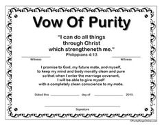 Printable Purity Certificates