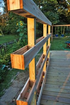 13 Attractive Ways To Add Privacy To Your Yard & Deck (With lots of pictures and resources) Make a garden wall!!
