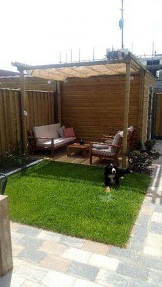 How to Make the Most of Your Backyard Back Gardens, Small Gardens, Outdoor Gardens, Back Garden Design, Garden Landscape Design, Backyard Patio Designs, Backyard Pergola, Garden Sitting Areas, Outside Seating Area