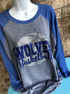 Basketball Mom Shirts, Basketball Players, Personalized Basketball, Sports Mom, Heather White, Moma, Graphic Sweatshirt, Graphic Tees, Shirt Designs