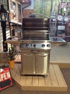 4-burner Jackson Grill Lux Series, Grills, Bbq, Jackson, Backyard, Outdoor Decor, Home Decor, Barbecue, Patio