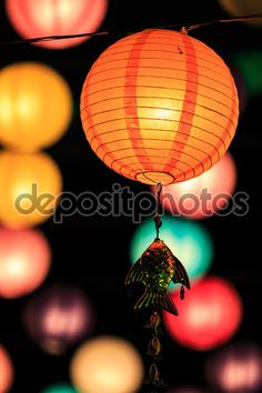 Chinese lanterns season — Stock Image #56016607