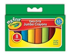 Superb Crayola Beginnings 8 Jumbo Crayons Now At Smyths Toys UK! Buy Online Or Collect At Your Local Smyths Store! We Stock A Great Range Of Crayola At Great Prices. Crayola Pens, Wax Crayons, Color Crayons, Toddler Coloring Book, Coloring For Kids, Coloring Books, Colouring, Lego Building Sets, Toys