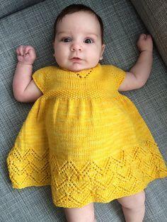 Baby Knitting Patterns Dress Ravelry: Helen Joyce Dress pattern by Taiga Hilliard Designs