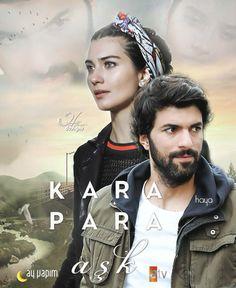 Promo for the Turkish TV series KARA PARA ASK, 2014-2015, starring Engin Akyürek and Tuba Buyukustun.